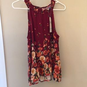 Anthropologie Tank Top: NEW WITH TAGS